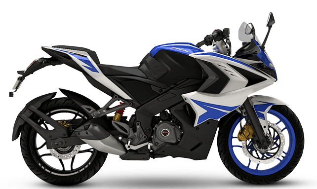Bajaj Pulsar RS200 Bike On Rent In Nainital